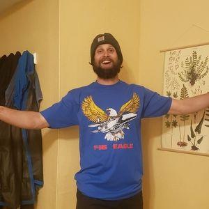 VINTAGE F-15 Eagle T-Shirt! Cawwwww!